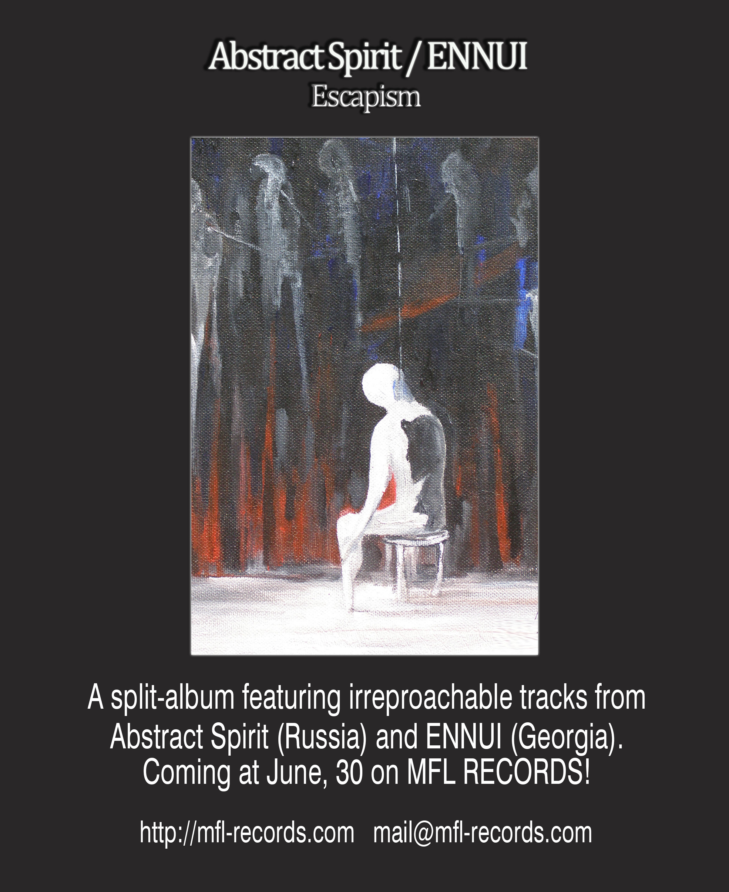 Abstract Spirit - ENNUI_upcoming split album on MFL-Records_announcement